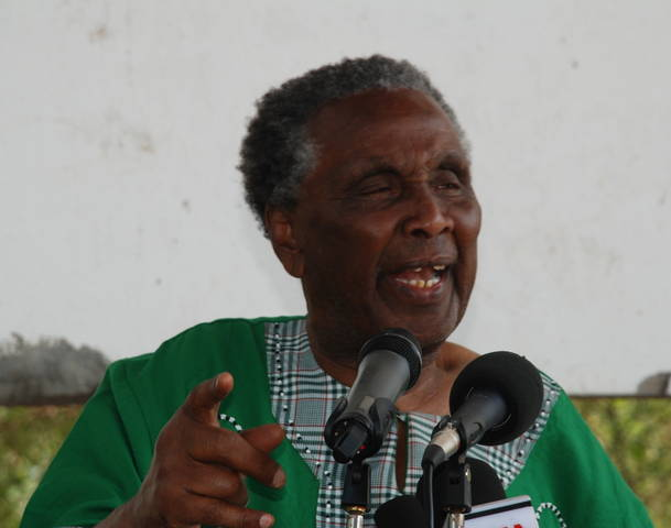 Former Cabinet Minister William ole Ntimama is dead
