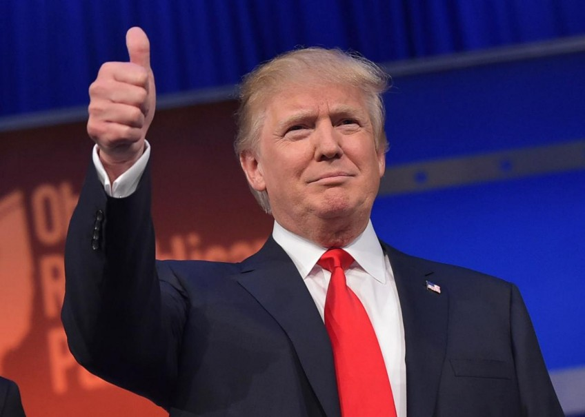 Donald Trump Is Elected President of the U.S.A